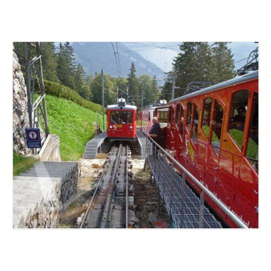 Pilatus Railway Postcard