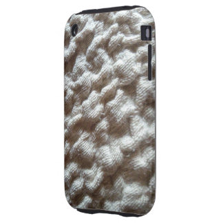 pile fabric tough iPhone 3 covers