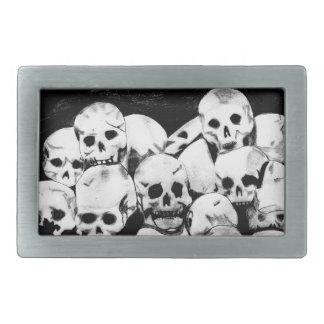Pile-O-Skulls Belt Buckles
