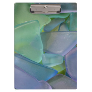 Pile of blue beach glass, Alaska Clipboard