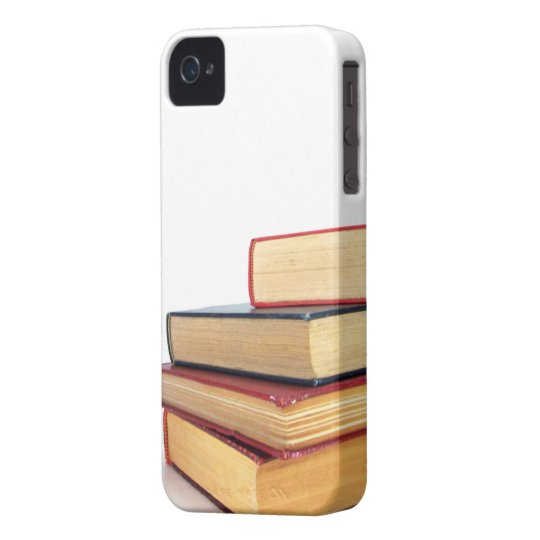 Pile of books iPhone 4 4S case library