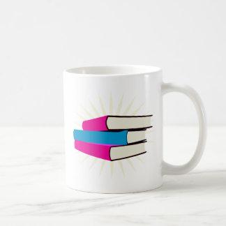 Pile of Books Coffee Mugs