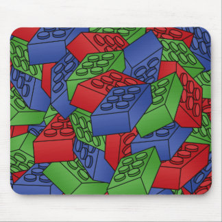 Pile of Building Blocks Mouse Mat
