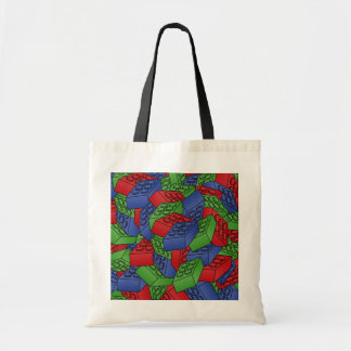 Pile of Building Blocks Tote Bag