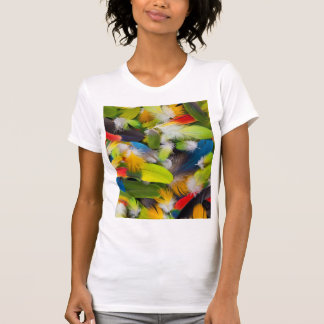 Pile of colorful feathers T-Shirt