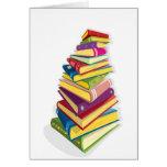 pile of colour books