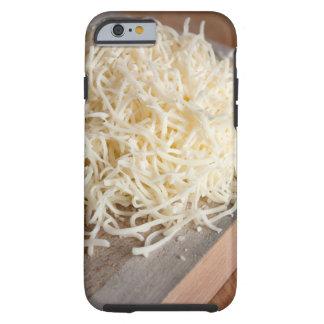 Pile of fresh mozzarella cheese. tough iPhone 6 case