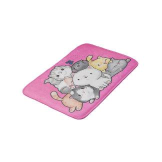 Pile of Kittens Bath Mat