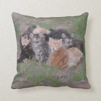 Pile of Kittens Cushion