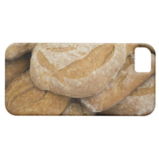 Pile of large bread loaves iPhone 5 cases