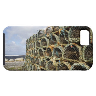 pile of lobster crab pots on Irish shoreline Case For The iPhone 5