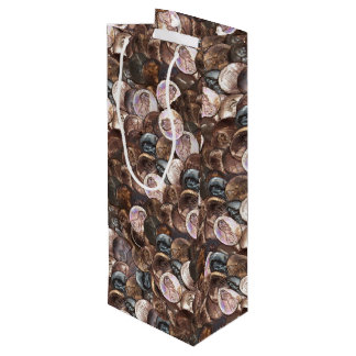 Pile of Pennies - One Cent Penny Spread Background Wine Gift Bag