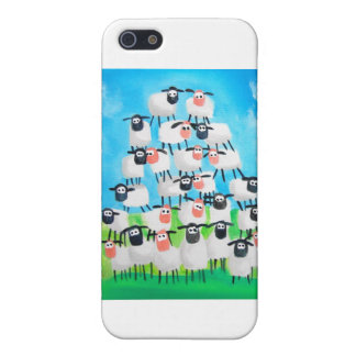 Pile of sheep iPhone 5/5S case