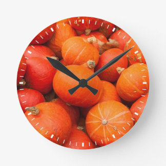 Pile of small pumpkins, Germany Wallclock