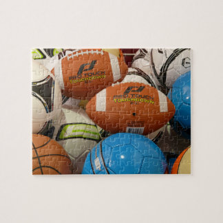 Pile Of Sports Balls Jigsaw Puzzle Jigsaw Puzzles