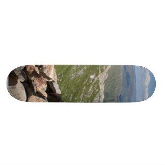 Pile Of Stones On A Walk To Snowdon Custom Skate Board