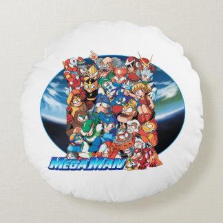 Pile-Up Round Cushion