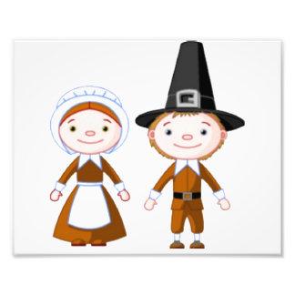 Pilgrim Couple Photo
