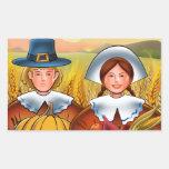 Pilgrim Couple Sticker