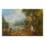 Pilgrimage to Cythera The Embarkation for Cythera Poster