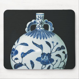 Pilgrim's 'Blue and White' Gourd with Floral Mouse Mat
