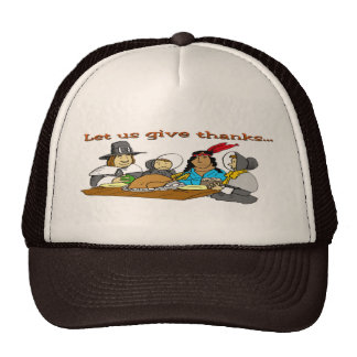 Pilgrims Give Thanks Hat