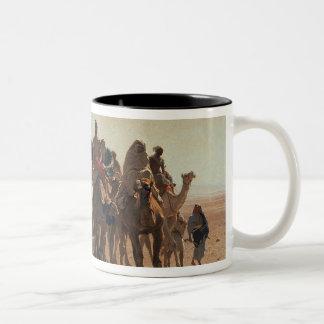Pilgrims Going to Mecca 1861 Coffee Mug