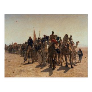 Pilgrims Going to Mecca, 1861 Postcard