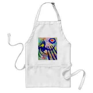 Piliero Abstract Color Standard Apron