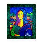 Piliero Mona Lisa Postcard
