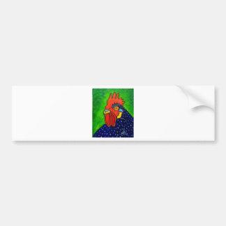Piliero Rooster 6 Bumper Sticker