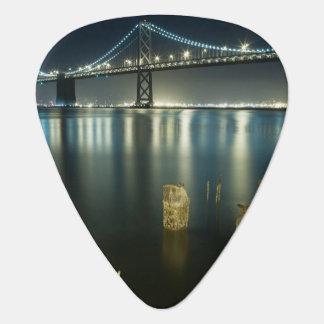 Pilings along the Embarcadero, San Francisco Guitar Pick