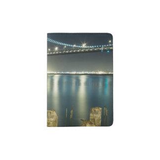 Pilings along the Embarcadero, San Francisco Passport Holder