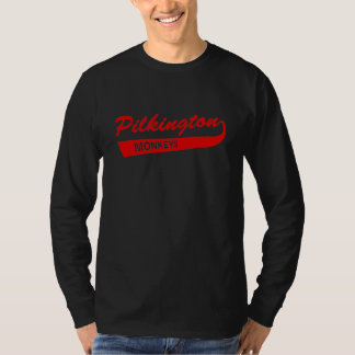 Pilkington Monkeys Red Long-sleeved tee