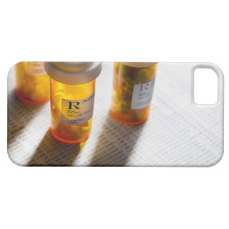 Pill bottles on stock page case for the iPhone 5
