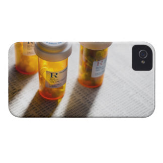 Pill bottles on stock page iPhone 4 Case-Mate case
