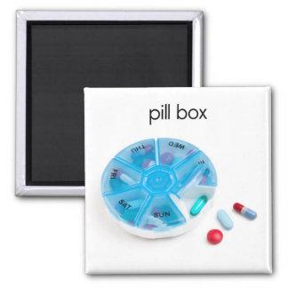 Pill Box Refrigerator Magnet