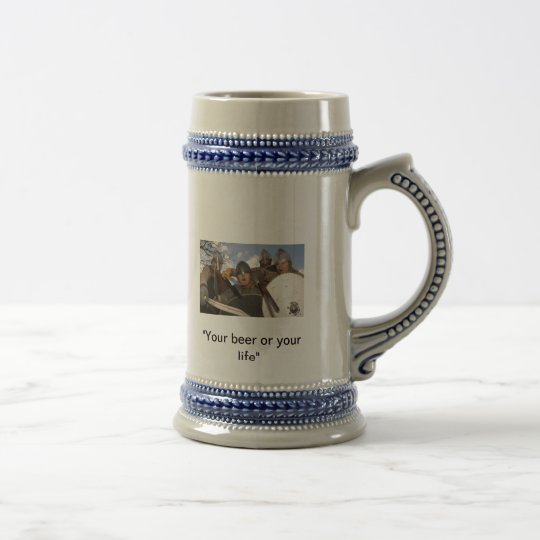 Pillage for a pint beer stein