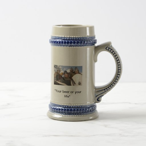 Pillage for a pint coffee mugs