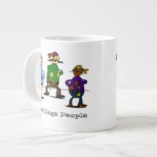 Pillage People Pun Mug Jumbo Mug