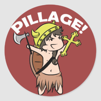 Pillage! stickers