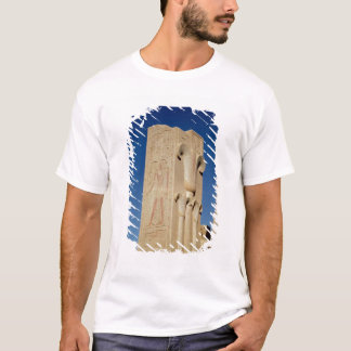 Pillar decorated with stylised papyrus plants T-Shirt