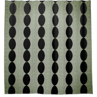 Pillars-Antique-Dreams-Jade-Black-- Home-Decor Shower Curtain