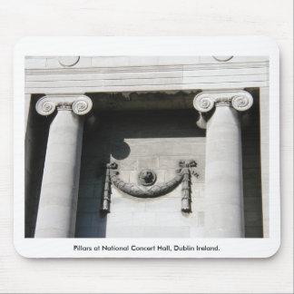 Pillars at National Concert Hall, Dublin Ireland Mouse Pad