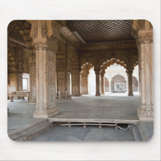 Pillars inside Red Fort in India Mouse Pad