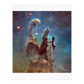 Pillars of creation 21.5 cm x 28 cm flyer