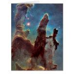 Pillars of creation big greeting card