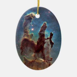 Pillars of creation christmas ornament