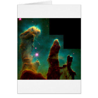 Pillars of Creation - Hubble Space Telescope Image Card
