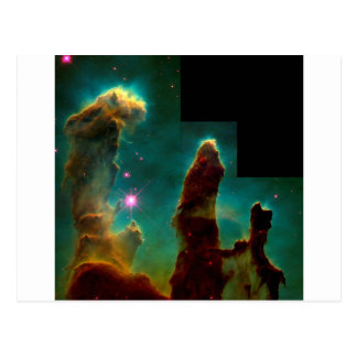Pillars of Creation - Hubble Space Telescope Image Postcard